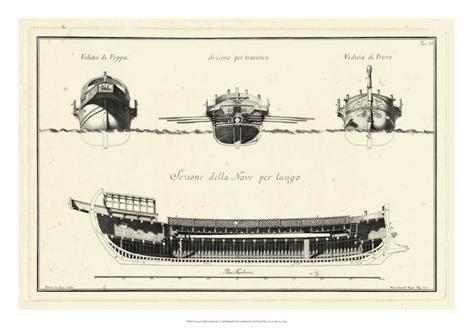 Veduta di Palmi Napoletani I Giclee Print