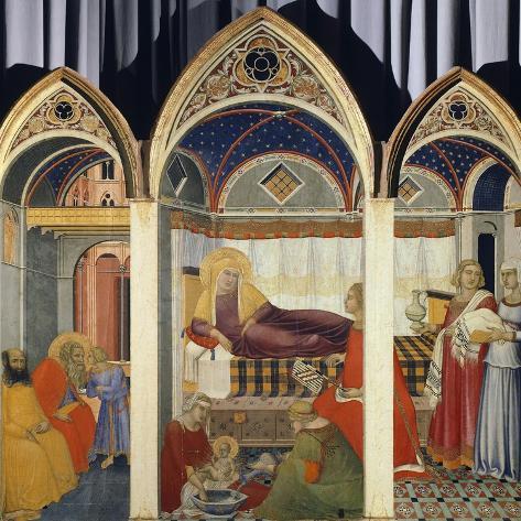 Nativity of the Virgin Lámina giclée