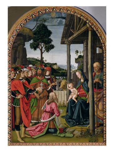 Adoration of the Magi, c.1476 Lámina giclée
