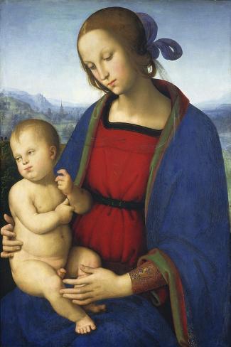 Madonna and Child, C.1500 Lámina giclée