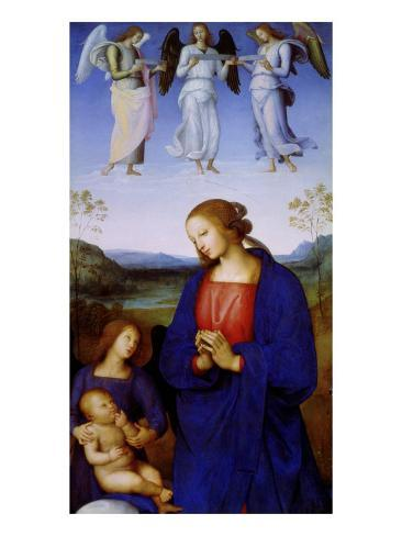 The Virgin and Child Giclee Print