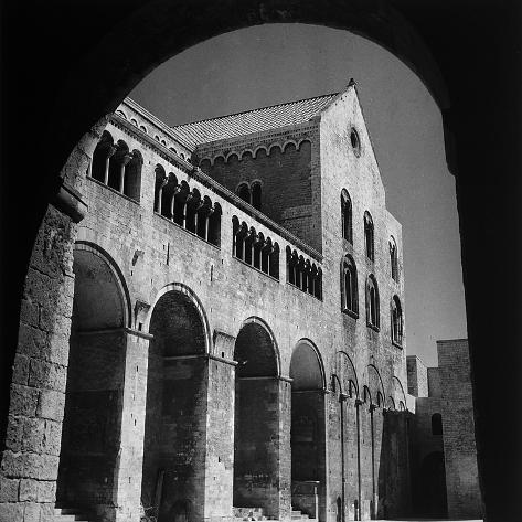 The South Side of the Basilica of San Nicola in Bari ...