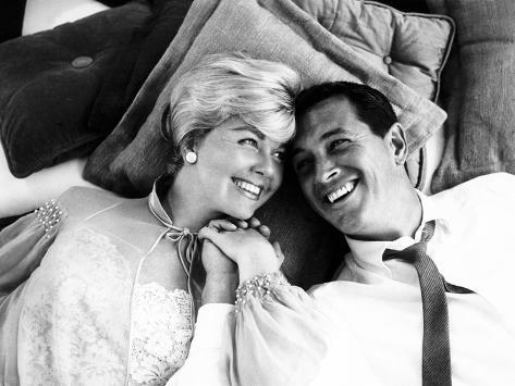 Pillow Talk, Doris Day, Rock Hudson, 1959 Foto