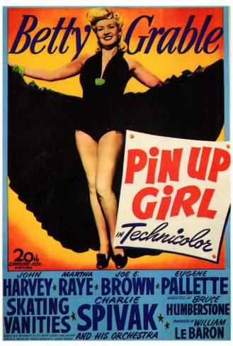 Pin Up Girl Poster