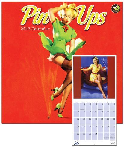 Pin Ups - 2013 Calendar Calendars
