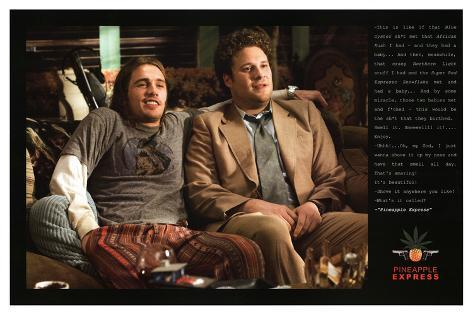Pineapple Express Movie Quotes Poster Print Pôster