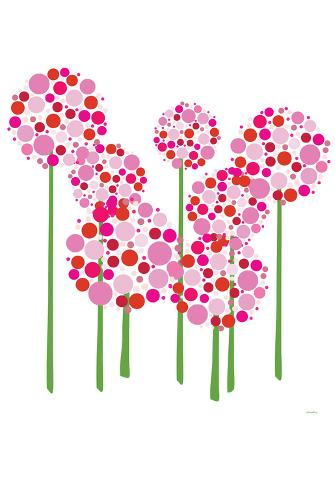 Pink Allium Poster