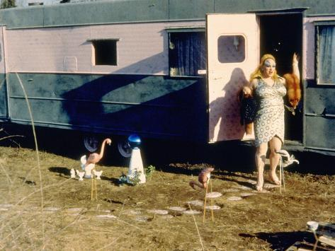Pink Flamingos, Divine, 1972 写真