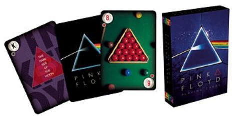 Pink Floyd Dark Side of the Moon Music Playing Cards Playing Cards