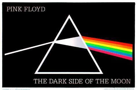 Pink Floyd - DSOM Blacklight Poster