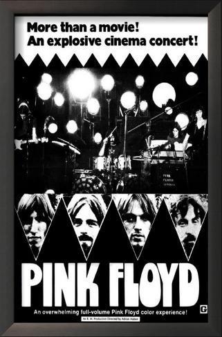 Pink Floyd: Live at Pompeii Framed Art Print