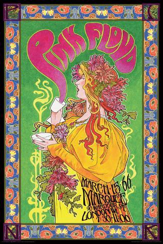 Pink Floyd Marquee '66 Poster