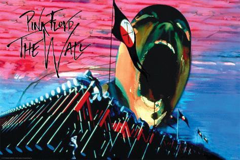 Pink Floyd- The Wall Hammers & Scream Poster