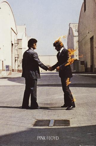 Pink Floyd - Wish You Were Here Póster