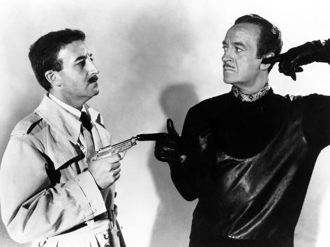 Pink Panther, Peter Sellers, David Niven, 1963 Photo