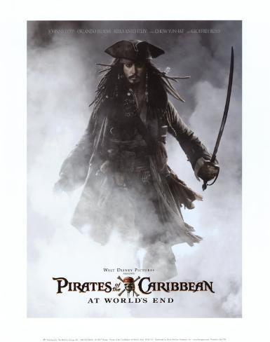 Pirates of the Caribbean: At World's End Art Print