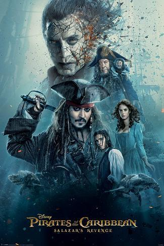Pirates Of The Caribbean - Burning Poster