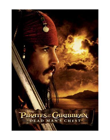 Pirates of the Caribbean: Jack Sparrow Art Print