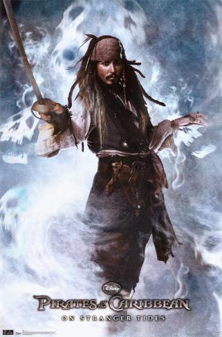 Pirates of the Caribbean On Stranger Tides - Jack Poster