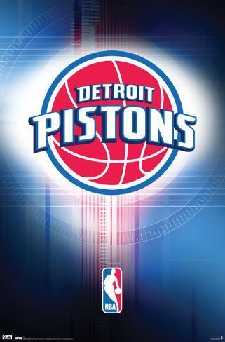 Pistons - Logo 2010 Poster