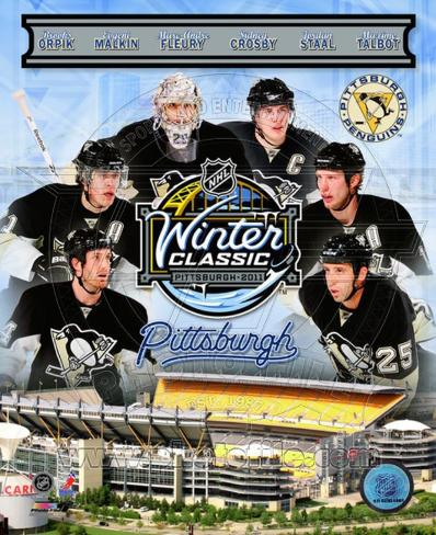 Pittsburgh Penguins 2011 NHL Winter Classic Composite Photo