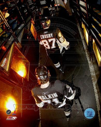 Pittsburgh Penguins - Sidney Crosby, Evgeni Malkin Photo Photo