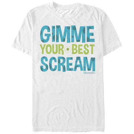 Pixar: Monsters University- Your Best Scream T-Shirt