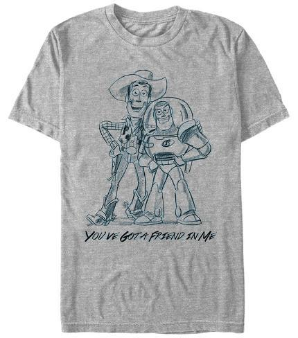 Pixar: Toy Story- Friendly Sketch T-Shirt