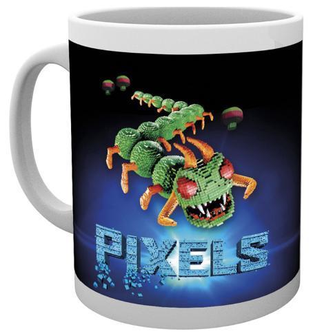 Pixels Centipede Mug Taza