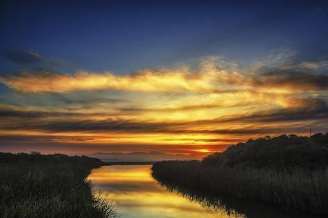 Sunset Valokuvavedos