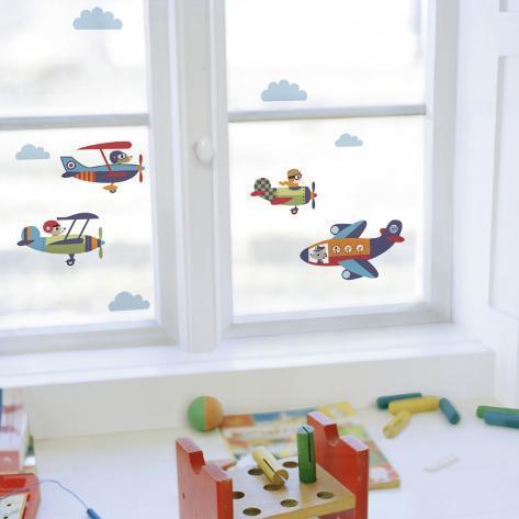 Planes Window Decal Sticker Window Decal