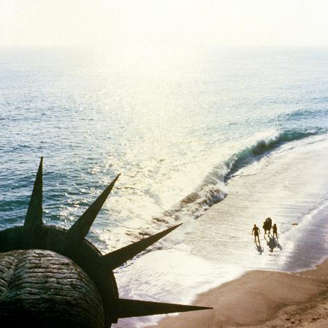 Planet of the Apes, 1968, Statue of Liberty Photo