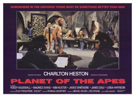 Planet of the Apes, 1968 Art Print