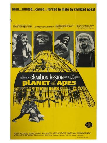 Planet of the Apes, 1968 Premium Giclee Print