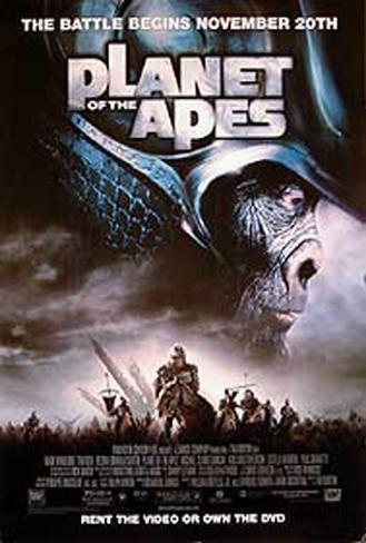 Planet Of The Apes 2001 Original Poster