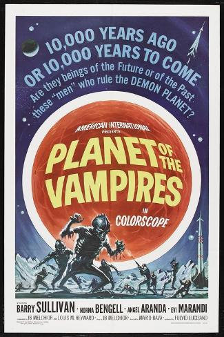 Planet of the Vampires, 1965,