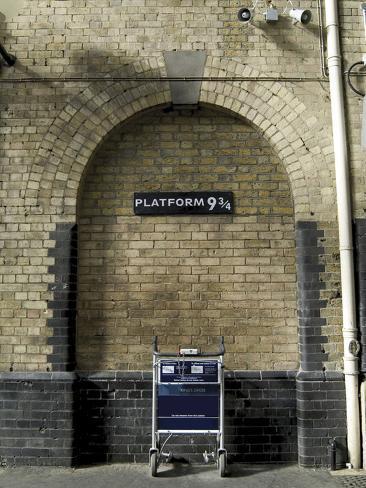 Platform 9 3/4 Poster Poster