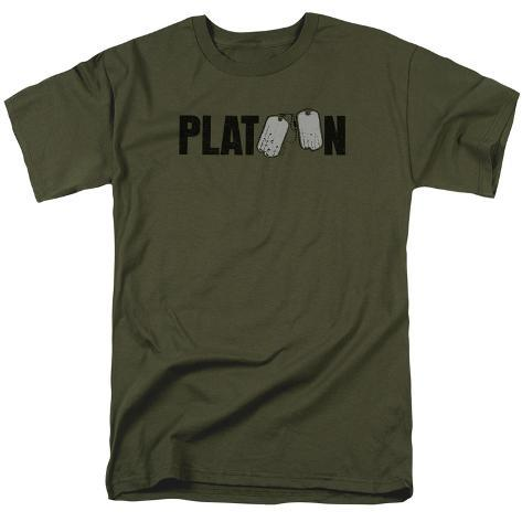 Platoon- Tag Logo T-Shirt