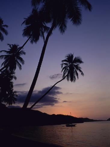 Playa Colorada, Mochima National Park, Venezuela Lámina fotográfica