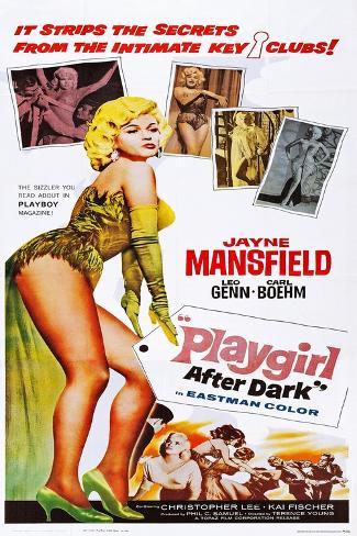 Playgirl after Dark Art Print