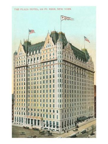 Plaza Hotel, New York City Art Print