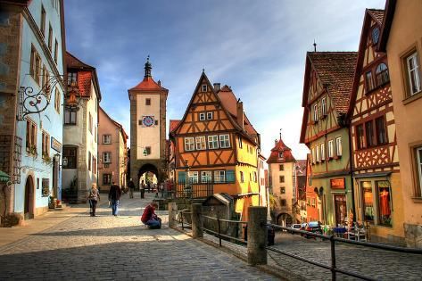 オールポスターズの plusone rothenburg ob der tauber medieval city