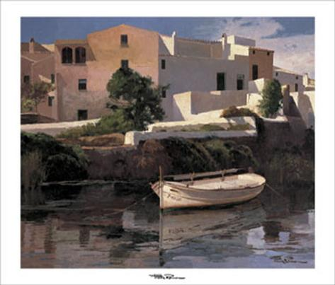 Rincon del Puerto Art Print