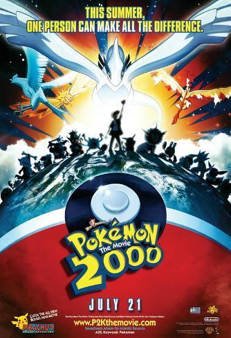 Pokemon 2000 Poster