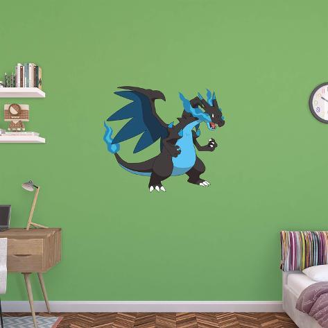 Pokemon   Mega Charizard X Wall Decal Part 78