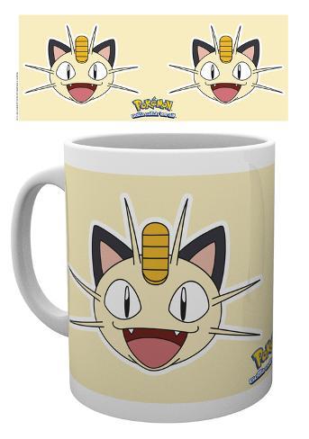 Pokemon Meowth Face Mug Mug