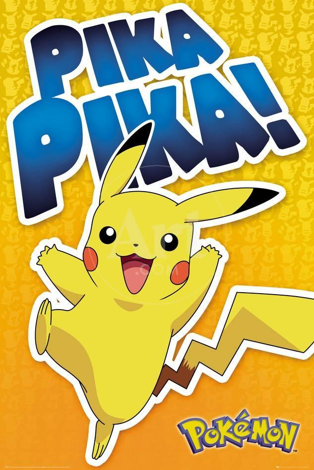 pokemon pika pika dance exclusive posters at allposters com au