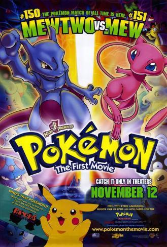 Pokemon: The First Movie Masterprint