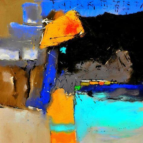 Abstract 6641502 Premium Giclee Print