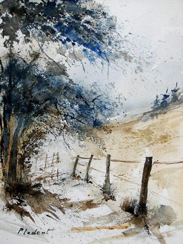 Watercolor 061106 Impressão artística